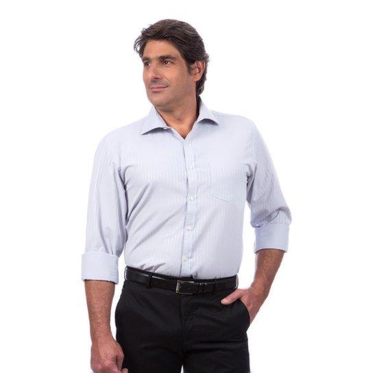 f5a9751a9f50f Camisa Social Maquinetada Colombo Masculino - Compre Agora