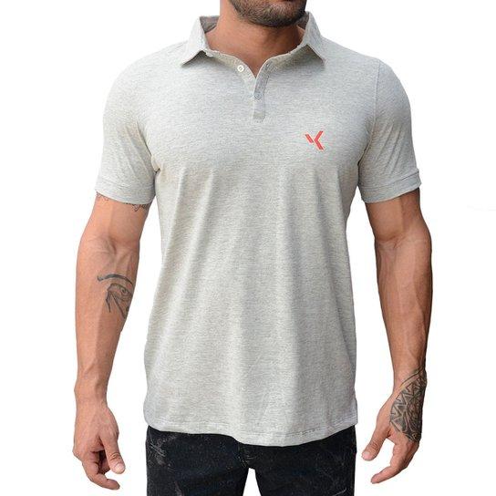 Camisa Polo Vk By Vk Básica Masculina - Cinza - Compre Agora  657e7e1b2c94a