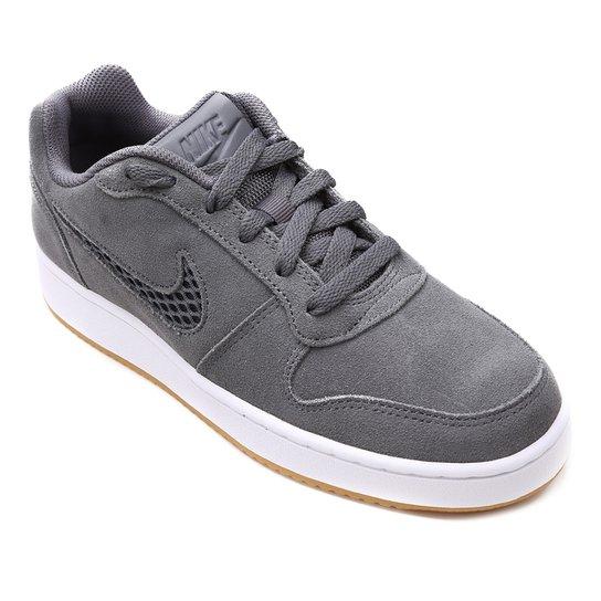 6eb2127ba Tênis Nike Wmns Ebernon Low Prem Feminino - Cinza - Compre Agora ...