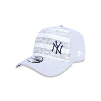 Boné 940 New York Yankees MLB Aba Curva Snapback New Era 76d58a73b02