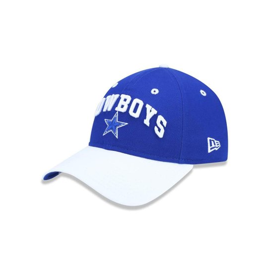 Boné 920 Dallas Cowboys NFL Aba Curva Strapback New Era - Azul Royal ... 99ceaef4d1e
