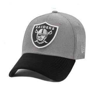 Boné New Era Aba Curva Snapback Oakland Raiders Core Denim 49d949f66e6