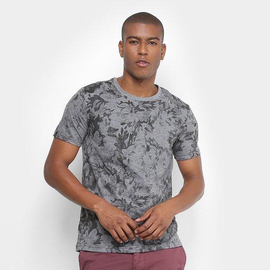 Camiseta All Free Estampada Folhagem Manga Curta Masculina - Compre ... 232a57ec366