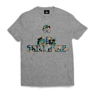 9ca906ef9 Camiseta Skill Head Logo Floral