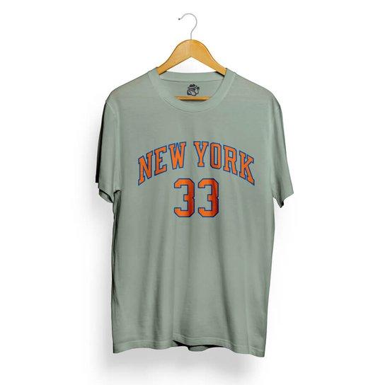 Camiseta BSC New York 33 - Cinza - Compre Agora  6b8c3a1669a