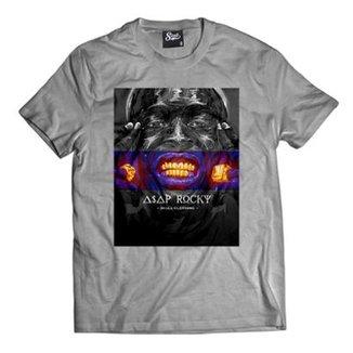 7c79807012 Camiseta Skull Clothing Asap Gold Masculina