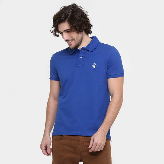 Camisa Polo Benetton Slim Fit Lisa - Compre Agora  d603b509596ce