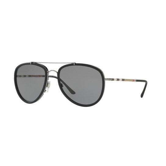 6e72afa92 Óculos de Sol Burberry BE3090Q - Cinza | Zattini