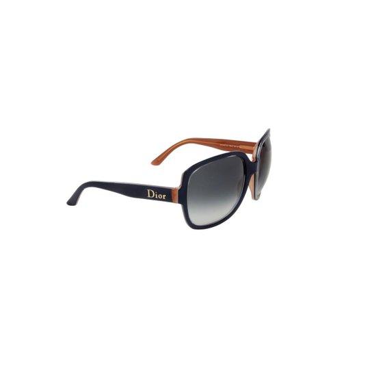 Óculos de Sol Christian Dior 100% Proteção U.V. Melani Feminino - Cinza aba446a9db