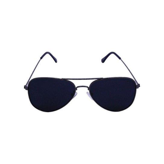 Óculos de Sol Khatto Aviador Station Masculino - Cinza - Compre ... 26387f750d