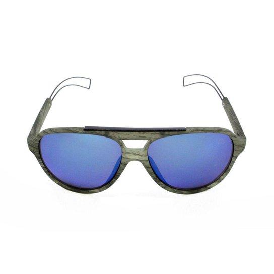 Óculos de Sol Khatto Aviador Tipo Masculino - Cinza - Compre Agora ... d134c381ce