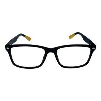 87571464f63fe Armação de óculos Khatto Haste Color Grau