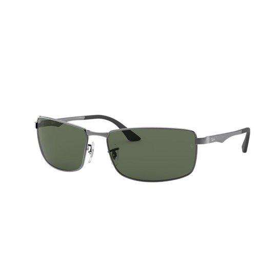 Óculos de Sol Ray-Ban RB3498 - Cinza - Compre Agora   Zattini 09823fe689