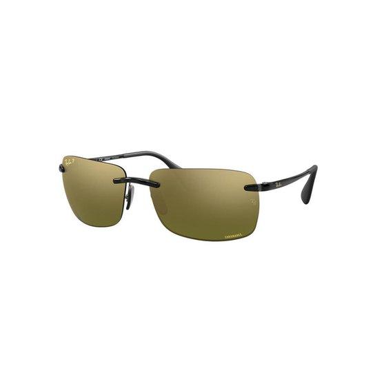 a93e22264673c Óculos de Sol Ray-Ban RB4255 Coleção Chromance - Cinza - Compre ...