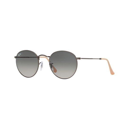 973737686 Óculos de Sol Ray-Ban RB3447 Round Metal Gradiente | Zattini