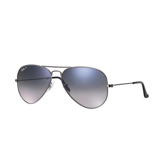 212a6bb31 Óculos de Sol Ray-Ban Aviator Rb3025 Feminino - Cinza | Zattini
