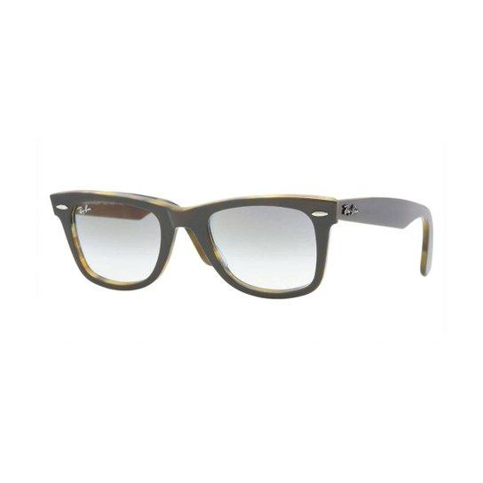 e828bd94c Armação de Óculos Ray-Ban Original Wayfarer Masculino - Cinza | Zattini