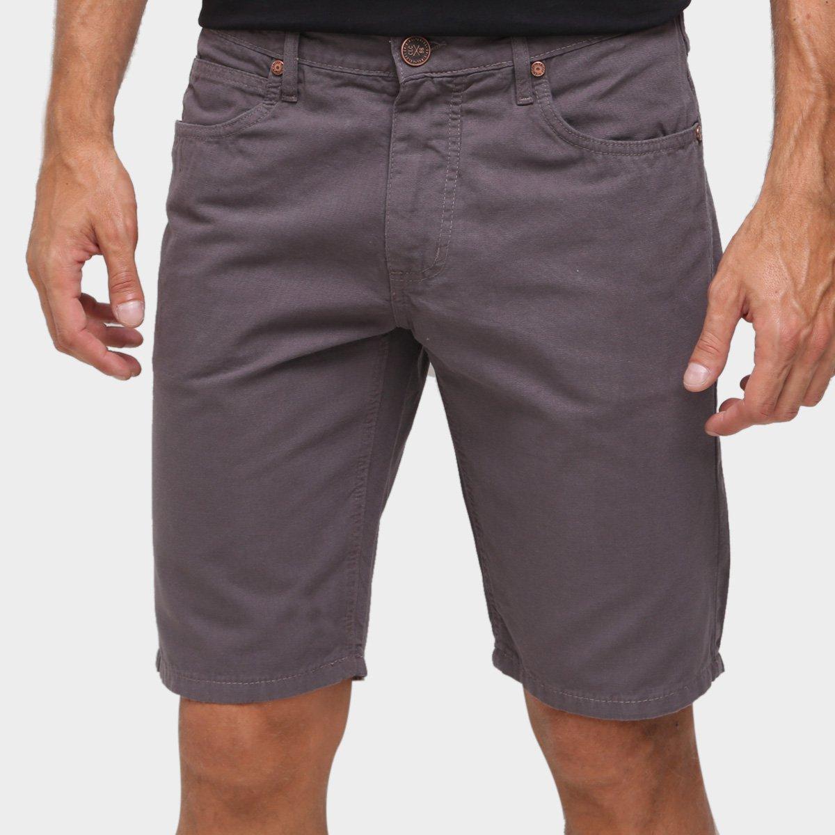 Bermuda Sarja Colcci Slim Color Masculina