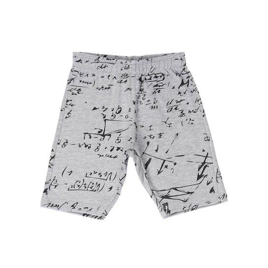 Bermuda Moletom Infantil Masculina Pakka Boys - Compre Agora  4da740273c0ae