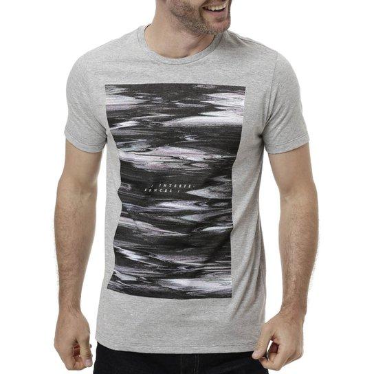 70665b3412cc5 Camiseta Manga Curta Masculina Fido Dido Cinza claro - Compre Agora ...