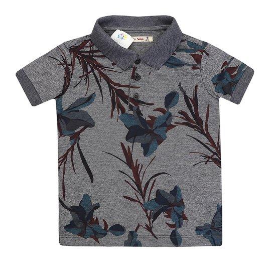 f7689b1690 Camiseta Polo Reserva Mini Floral Lirios - Compre Agora
