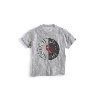 Camiseta Infantil Nao Tem Hora Reserva Mini Masculina 77f56df5ce