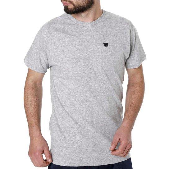 d9fc48f9c Camiseta Mx Zero Manga Curta Masculina - Cinza - Compre Agora