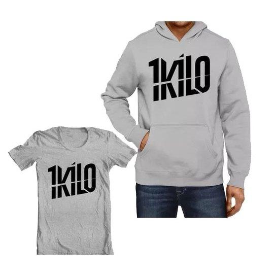 e4efb323cd Kit Moletom 1 Kilo + Camiseta | Zattini