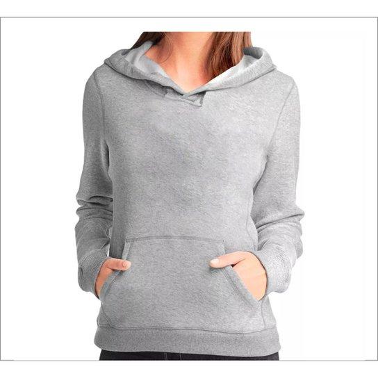 32bd316311 Moleton Blusao Feminino Liso Triztam - Compre Agora