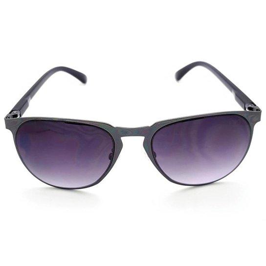 9faa8cdc69d47 Óculos de Sol Gio Antonelli Lente Cinza Azulada Degradê Feminino - Cinza