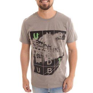 ffc6774fbc Camiseta Osmoze Underground Claro Masculina