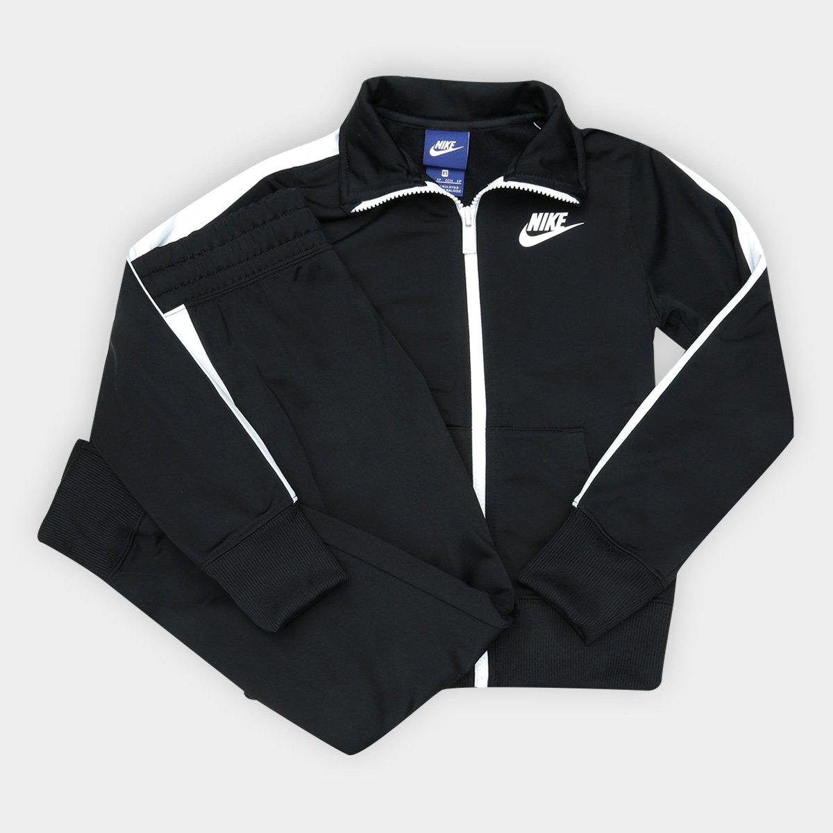 9c8baa82d1 FornecedorNetshoes. Agasalho Infantil Nike Sportswear Track Feminino