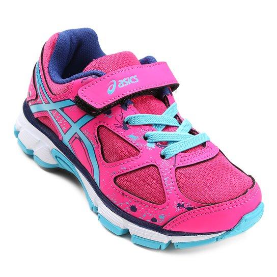 363f8804ee Tênis Infantil Asics Gel Lightplay 3 A - Pink e Azul - Compre Agora ...