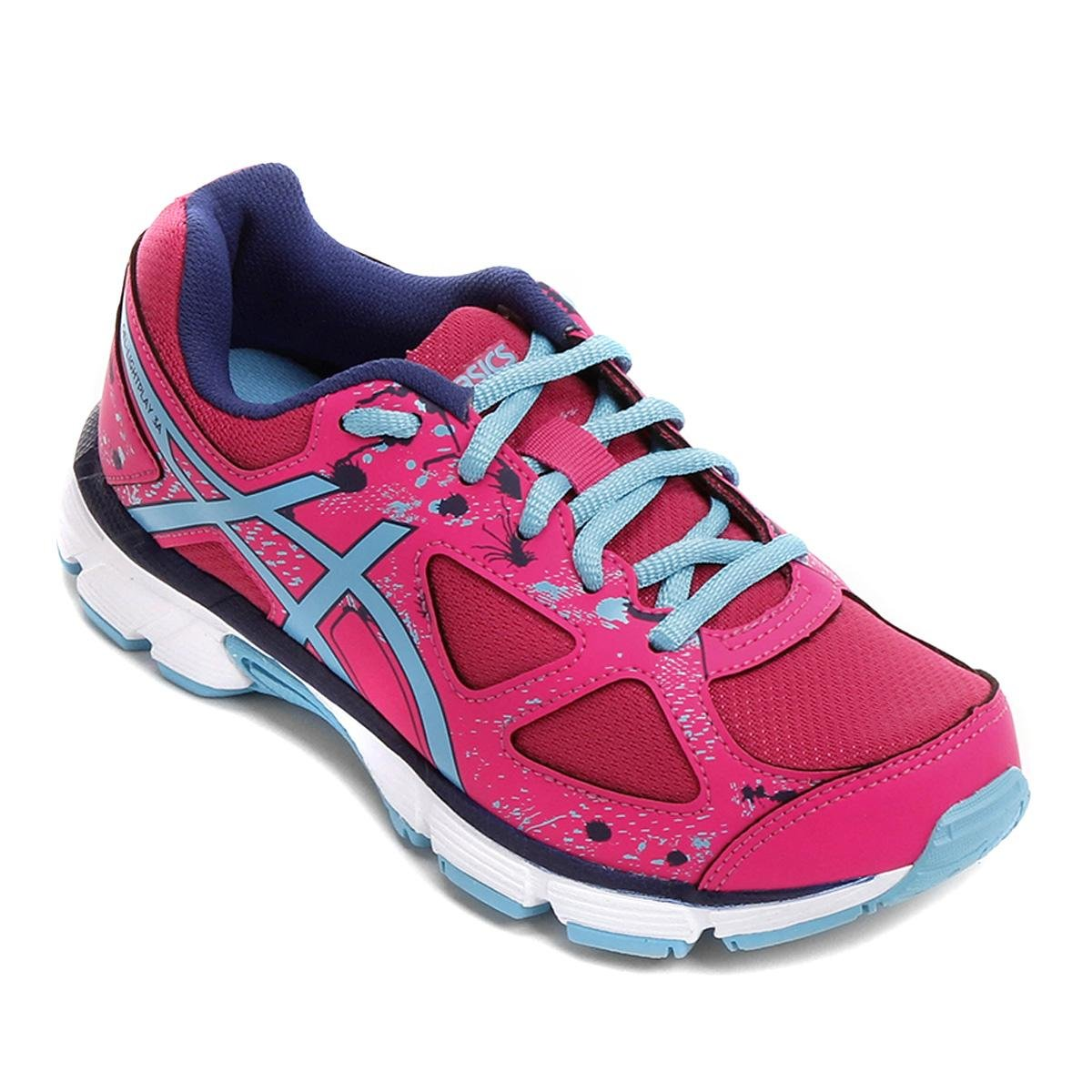 26813c04332 38%OFF Tênis Infantil Asics Gel-Light Play 3 A Gs Masculino