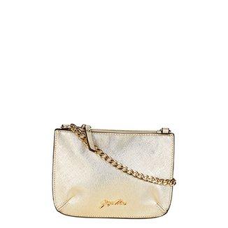 d21ffdea8799a Bolsa Jorge Alex Mini Bag Transversal Logo Feminina