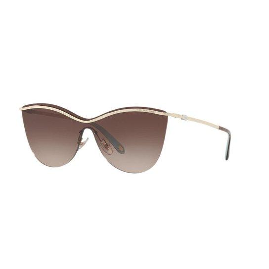 Óculos de Sol Tiffany   Co. TF3058 - Ouro - Compre Agora   Zattini 43cbe0291e