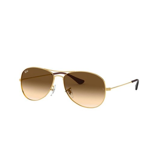 bfa56f314 Óculos de Sol Ray-Ban RB3362 Cockpit - Ouro | Zattini