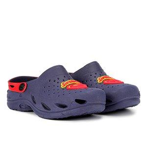 1de4c755b7 Sandália Infantil Plugt Ventor Superman Masculina