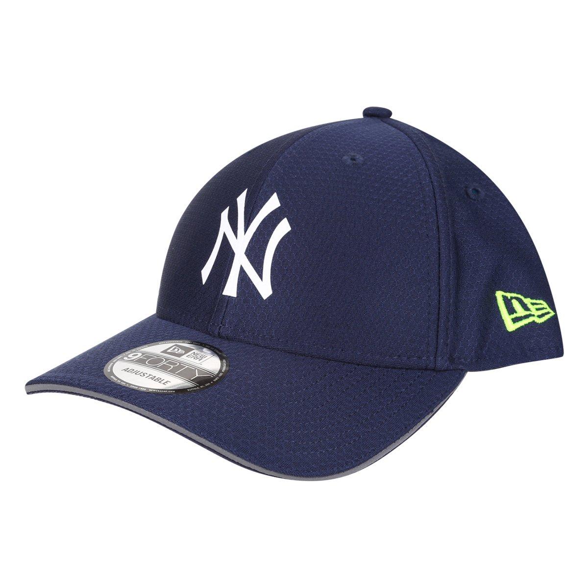 Boné New Era MLB New York Yankees Aba Curva Snapback Urban Tech Reflective Flap 9Forty