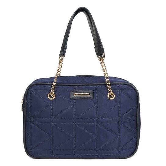 Bolsa Queens Mini Bag Nylon Matelassê Feminina - Marinho - Compre ... 4c6259b7e7c