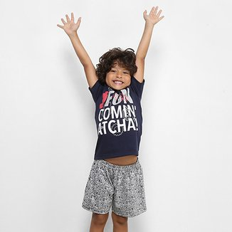 cd7213bed Pijama Infantil Curto Disney Masculino