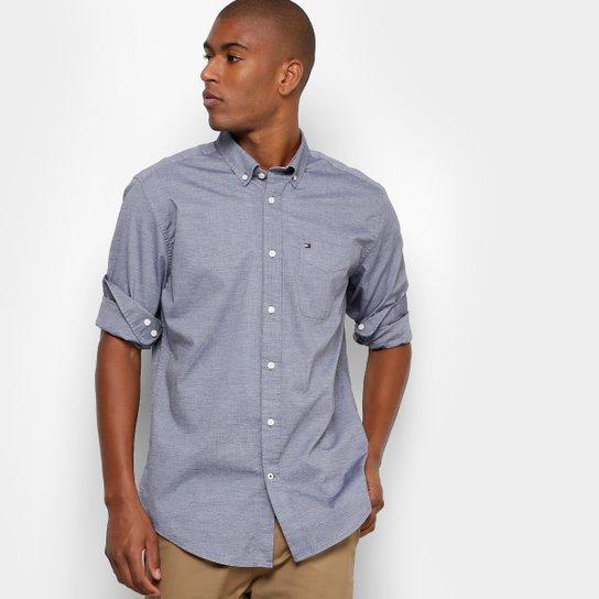 f87681ad5e Camisa Social Tommy Regular Fit Masculina - Compre Agora