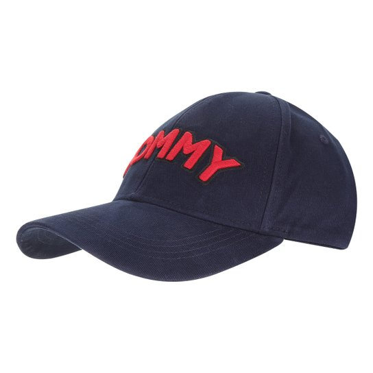 Boné Tommy Hilfiger Aba Curva Patch Cap Feminino - Compre Agora ... 4996957ed9d