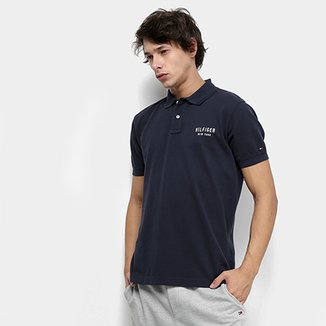 a18c00ac08 Camisa Polo Tommy Hilfiger Essential Regular Masculina