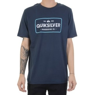 Camiseta Quiksilver Detention Thermal Masculina 25345a4a1324b