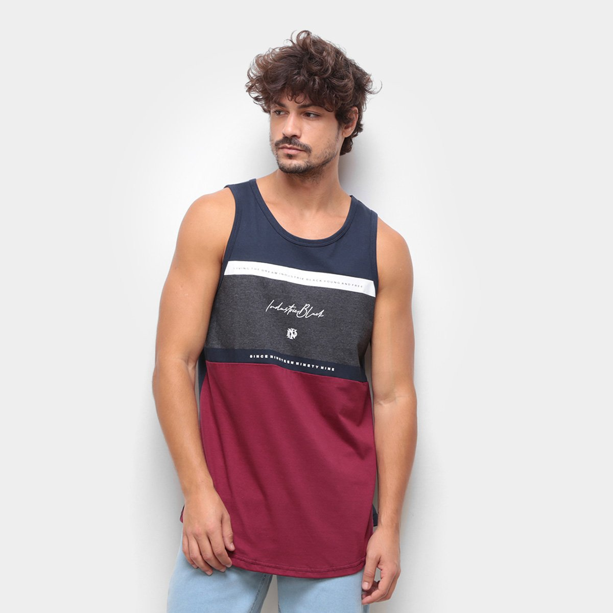 Regata Industrie Yong And Free Masculina