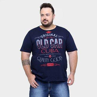 Camiseta Eagle Brasil Gola Plus Size 5a0686d803b23