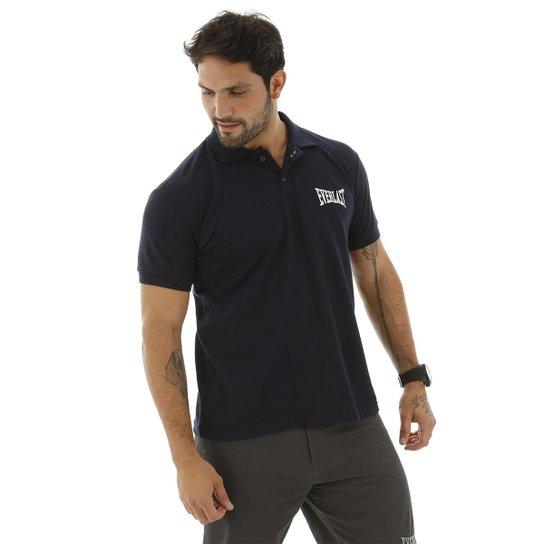 Camisa Polo Logotipia Everlast - Marinho - Compre Agora  fb1240d17d9ed
