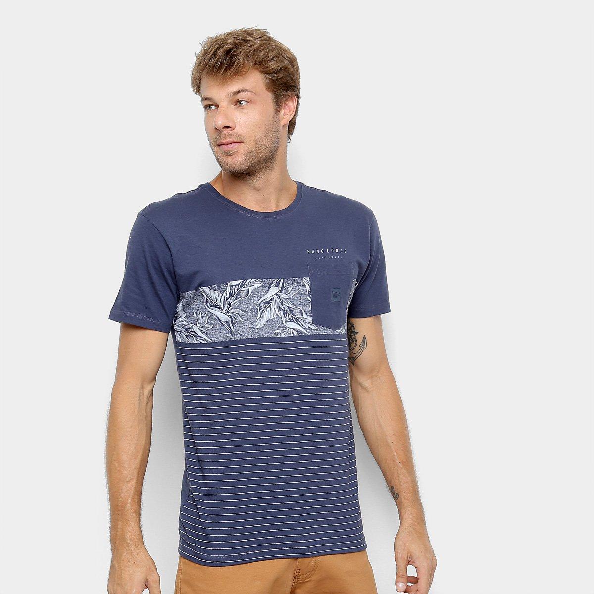 937f0b5ace1 Camiseta Hang Loose Estampada Tropico Masculina