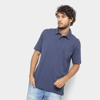 2129a90ee Camisa Polo Hang Loose Basic Masculina